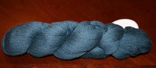 Lace alpaca-blue