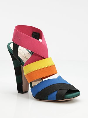 Prada color block shoe